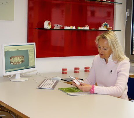 Dreidimensionale Behandlungsplanung in der Praxis Dr.Ellen Reinke